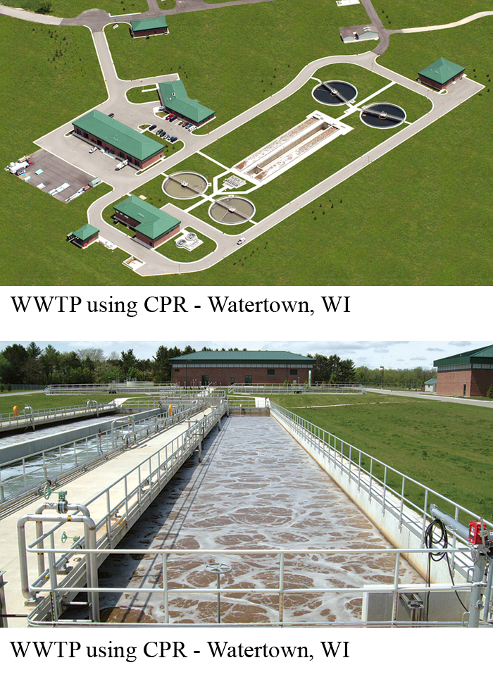 WWTP using CPR - Watertown, WI