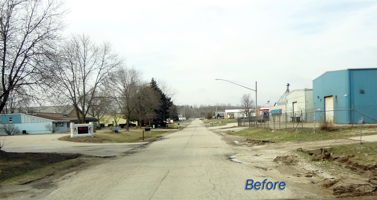 Industrial Avenue - Before