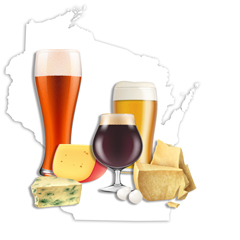 WI Cheese and Beer Image